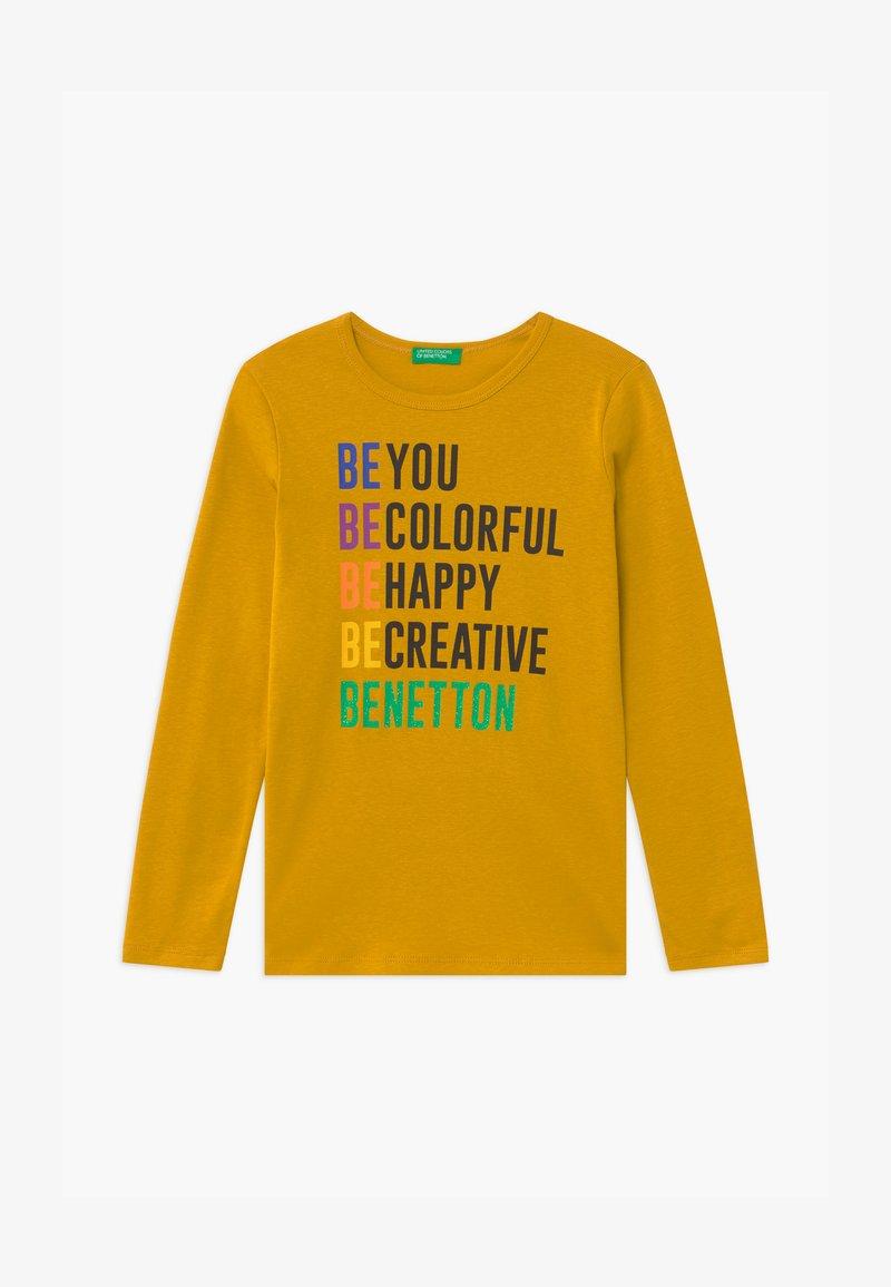 Benetton - BASIC GIRL - Longsleeve - yellow