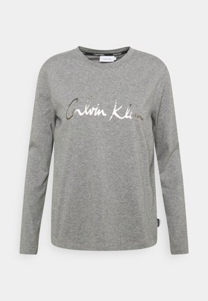 SIGNATURE - Long sleeved top - mid grey heather