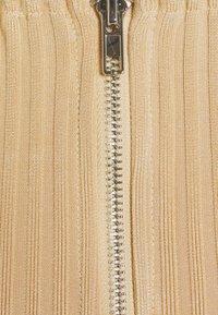 Missguided - NECKLINE CORSET - Print T-shirt - beige - 2