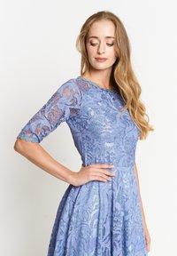 Madam-T - GLORIA - Day dress - indigo - 3