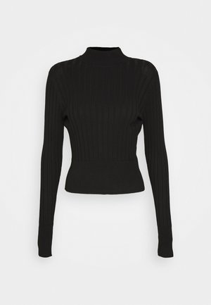 ISA SWEATER - Maglione - black