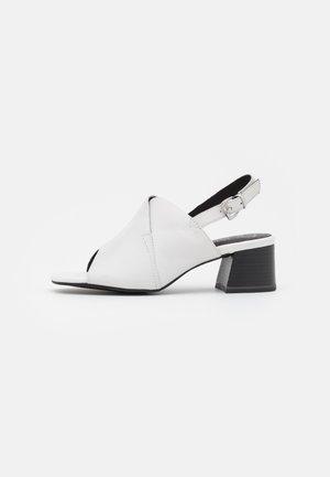 Sandali - white/black