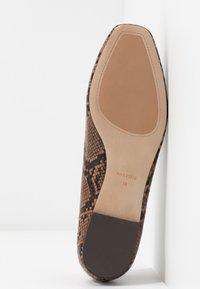 PARFOIS - Scarpe senza lacci - brown - 6