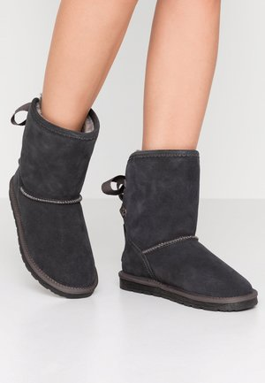 LUNA BACK - Classic ankle boots - anthracite