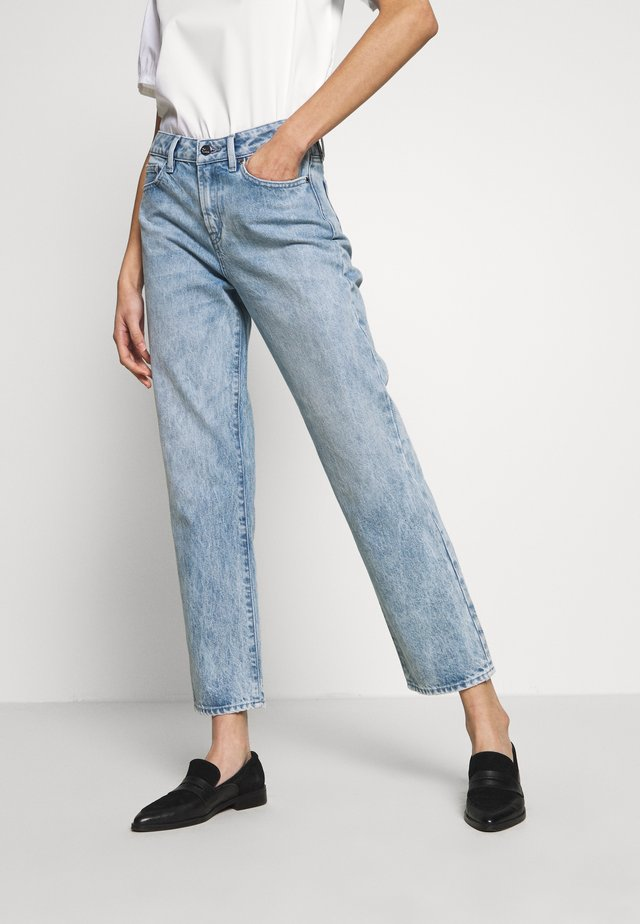 BARDOT HIGHWAIST STRAIGHT FIT MILLSBORO - Vaqueros rectos - blue