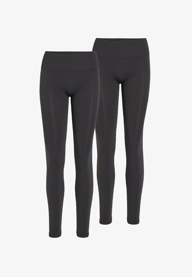 2PACK - Leggings - Trousers - black