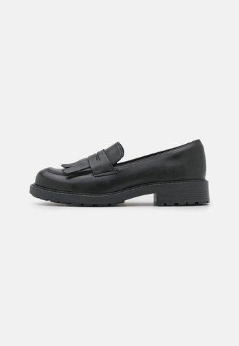 ORINOCO LOAFER - Slippers - black shine
