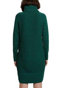 edc by Esprit - COWL NECK - Jumper dress - dark teal green - 6