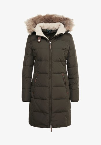 HAND TRIM  - Down coat - litchfield loden