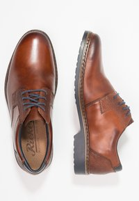 Rieker - Smart lace-ups - nut - 1