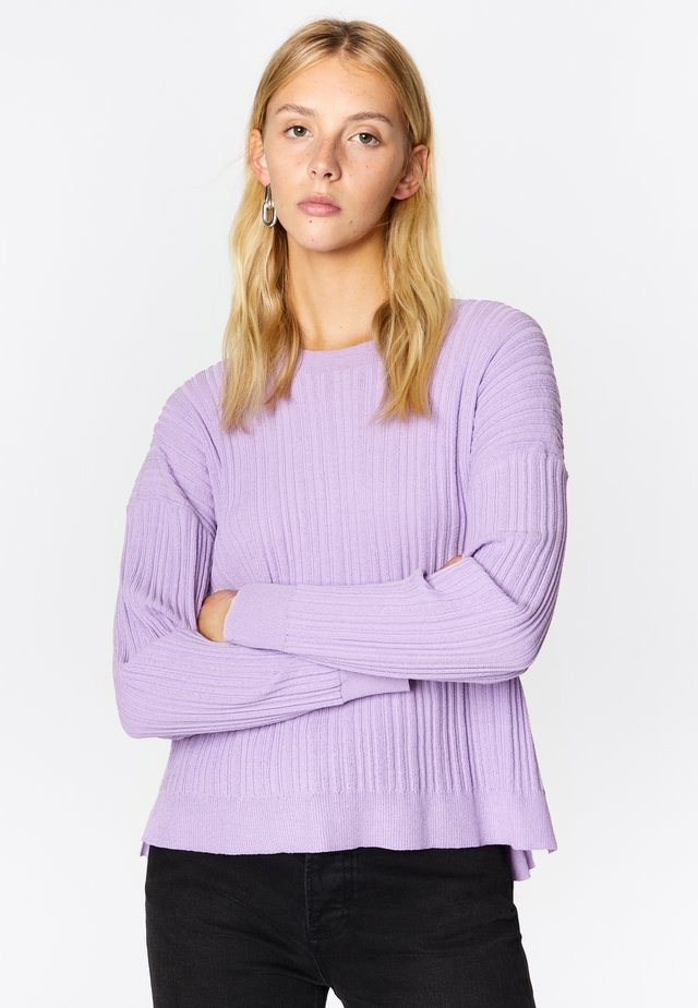 Jumper - dusty lilac
