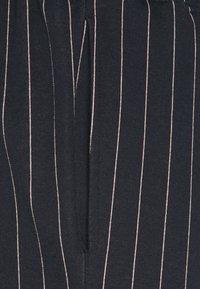 Topman - STRIPE JOG - Tracksuit bottoms - navy - 5