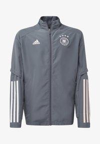 adidas Performance - DEUTSCHLAND DFB PRÄSENTATIONSJACKE - National team wear - onix - 0
