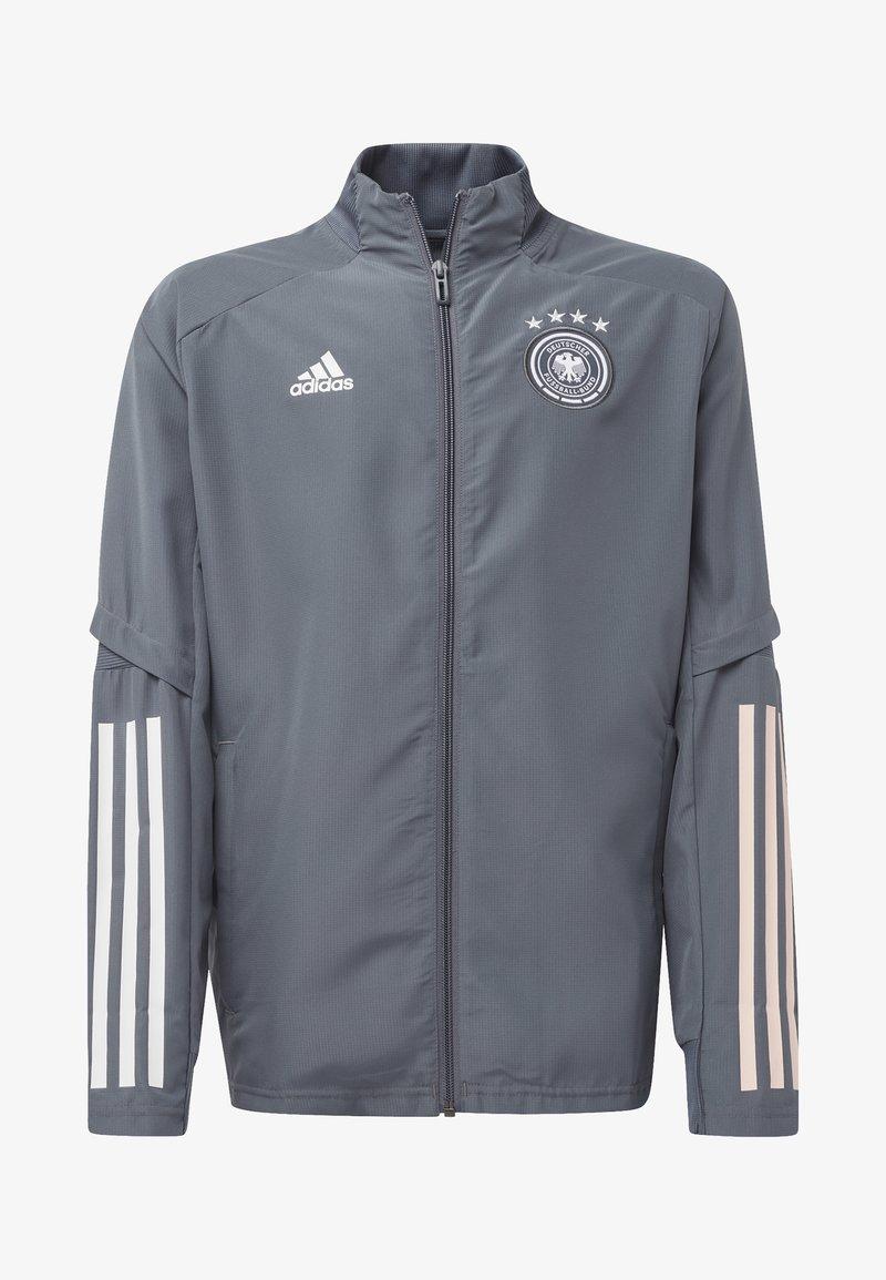 adidas Performance - DEUTSCHLAND DFB PRÄSENTATIONSJACKE - National team wear - onix
