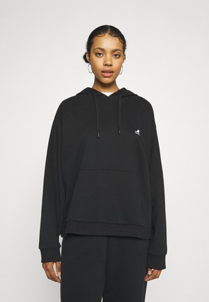 ALASKA BOXY FIT HOODY - Sweater - black