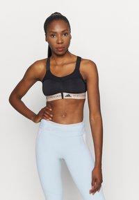 adidas by Stella McCartney - TRUEPUR MAS BRA - High support sports bra - black - 0