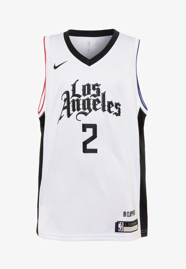 NBA KAWHI LEONARD LA CLIPPERS  - T-shirt de sport - white