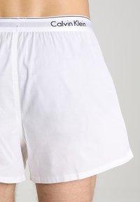 Calvin Klein Underwear - MODERN BOXER SLIM 2 PACK - Boxershorts - white - 2