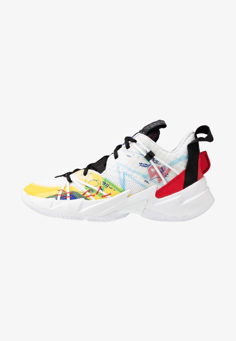 Jordan - WHY NOT SE - Basketball shoes - white/university red/black/hyper blue/lightening/blue glow