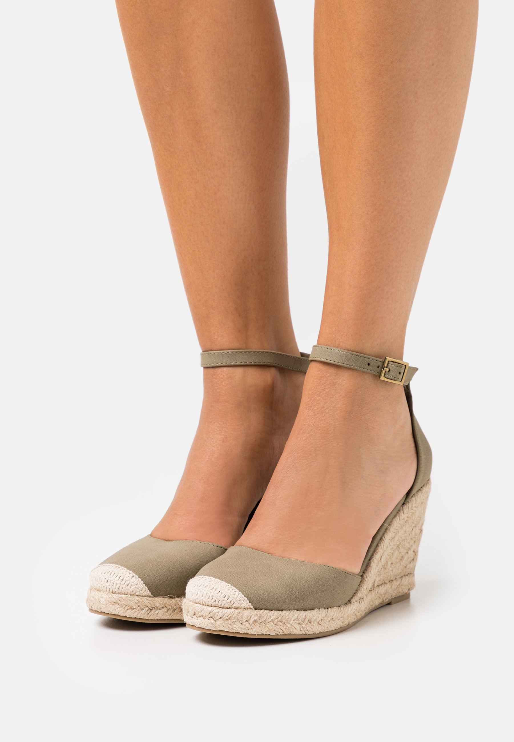 Femme FLORENCE CLOSED TOE  - Escarpins à talons hauts - moss