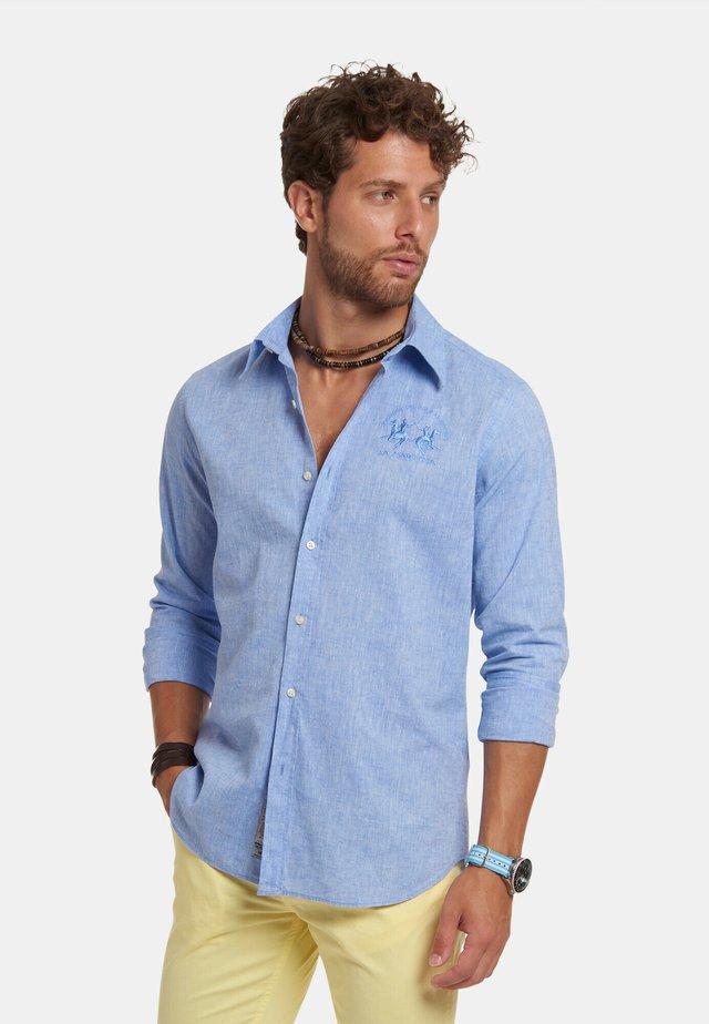 Camicia - sheer lilac