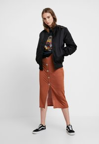 ONLY - ONLVITO THERESE JACKET - Bomber bunda - black - 1