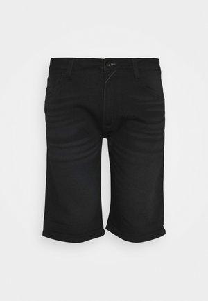 KEN PLUS - Szorty jeansowe - black