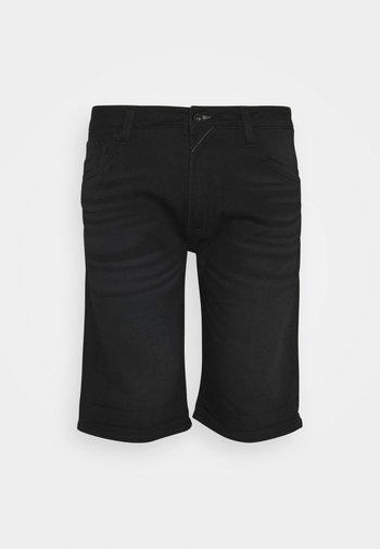 KEN PLUS - Denim shorts - black