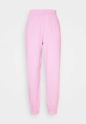 CUFFED JOGGER - Pantalones deportivos - bright pink