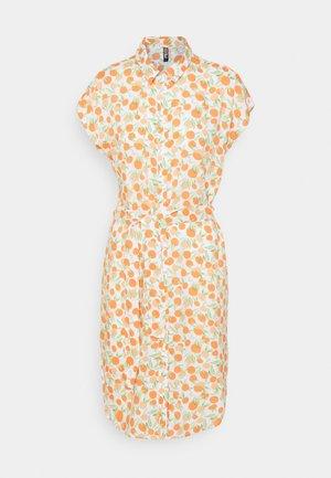 PCNYA SHIRT DRESS - Shirt dress - buttercream