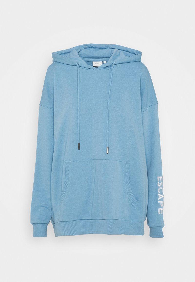 ONLY Tall - ONLTENNA LIFE OVERSIZE HOOD  - Sweatshirt - allure/break