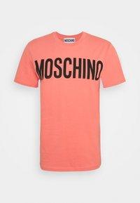 MOSCHINO - Print T-shirt - pink - 5