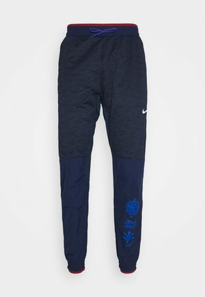 ELITE PANT - Pantalones deportivos - midnight navy/reflective silver