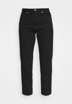 TROUSERS BETTY  - Jeans straight leg - black