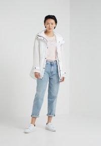 DKNY - FOUNDATION LOGO TEE - Print T-shirt - blush/white - 1