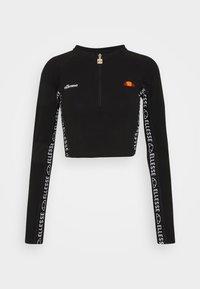 Ellesse - CASALINA - Camiseta de manga larga - black - 0