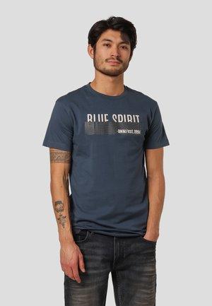 LEYLAND  - Print T-shirt - blue