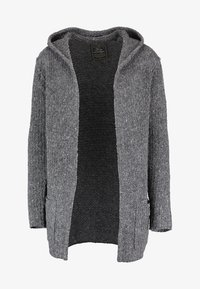 Key Largo - TERENCE HILL JACKET - Strickjacke - dark grey melange - 5