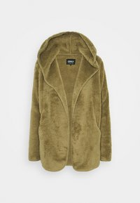 ONLY - ONLNEW CONTACT HOODED - Giacca leggera - martini olive - 3