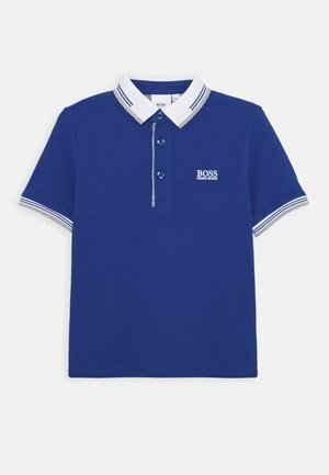 SHORT SLEEVE - Polo - electric blue