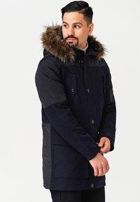 INDICODE JEANS - Winter coat - navy mix - 5