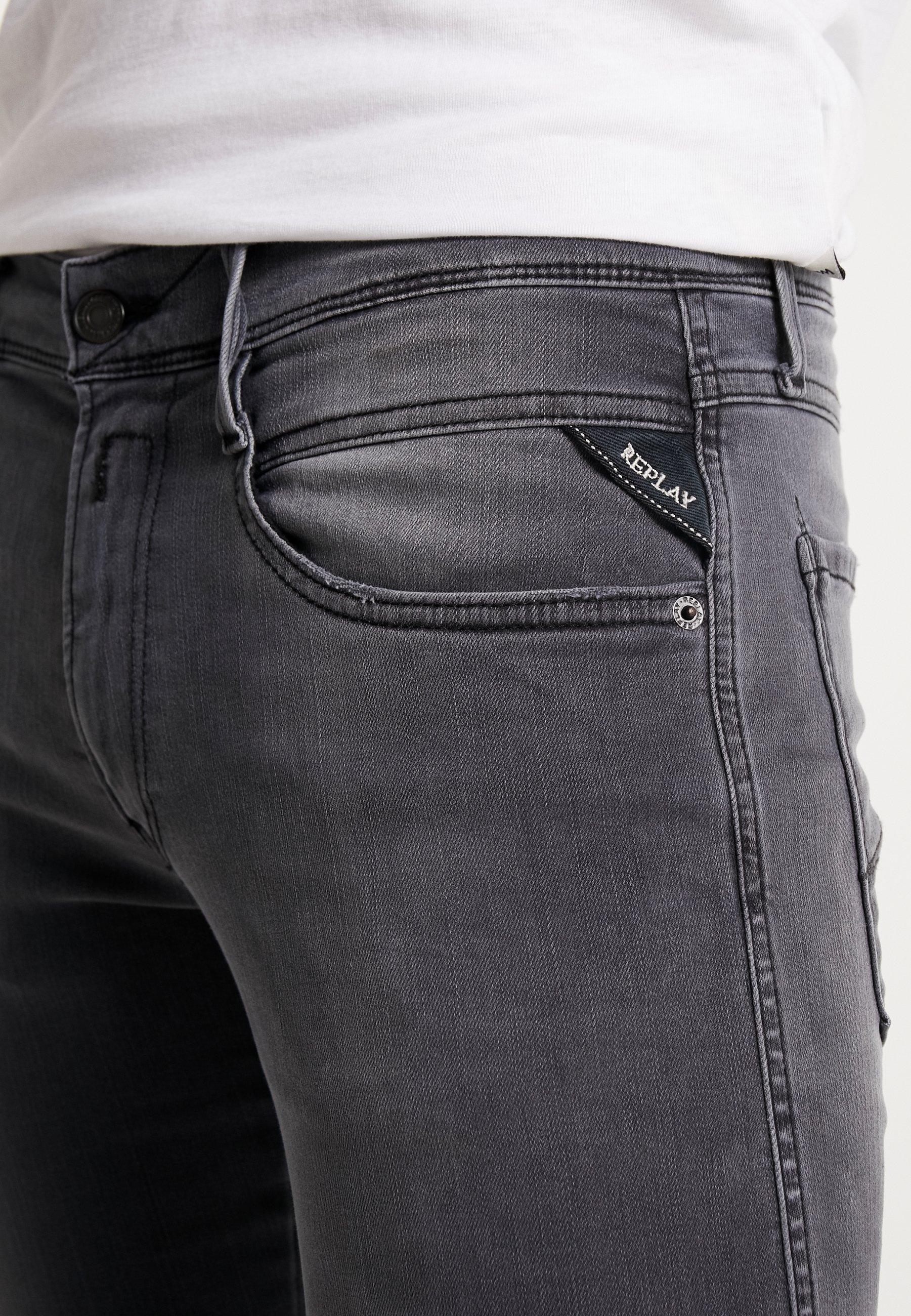 Uomo ANBASS HYPERFLEX - Jeans slim fit