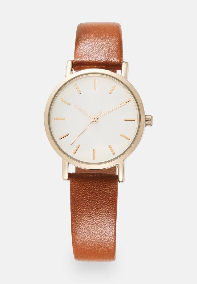 Watch - cognac