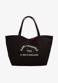 KARL LAGERFELD - RUE ST GUILLAUME TOTE - Shopping Bag - black - 1