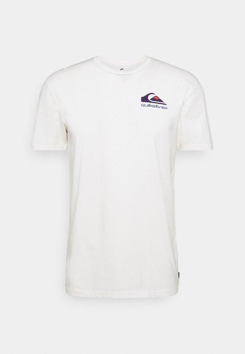 Quiksilver - REFLECT TEE - Print T-shirt - snow white