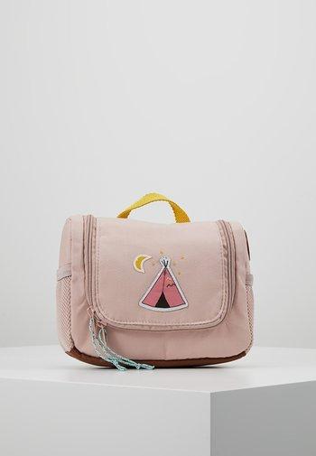 MINI WASHBAG ADVENTURE KULTURBEUTEL - Handbag - rosa