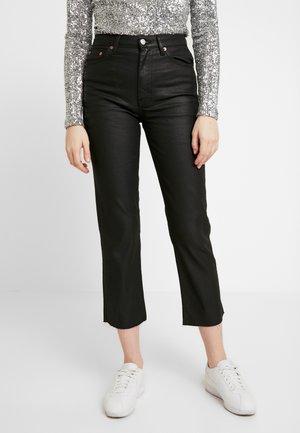 COAT - Jeans Straight Leg - black