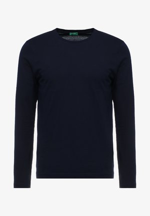 BASIC CREW NECK - Long sleeved top - navy