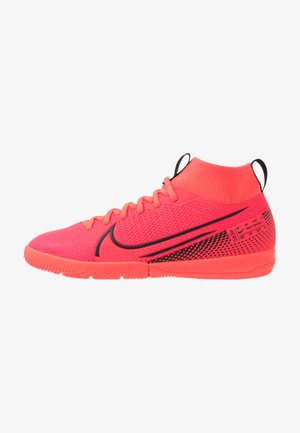 MERCURIAL JR 7 ACADEMY IC UNISEX - Indoor football boots - laser crimson/black