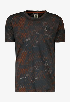 ALLOVERPRINT - Print T-shirt - sunburn